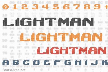 Lightman Font