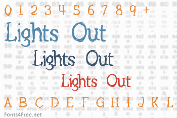 Lights Out Font