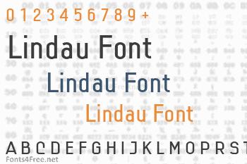 Lindau Font
