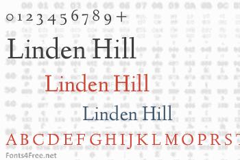 Linden Hill Font