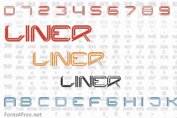 Liner Font
