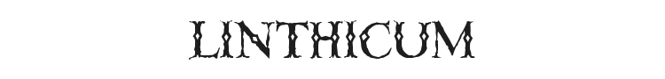 Linthicum Font Preview