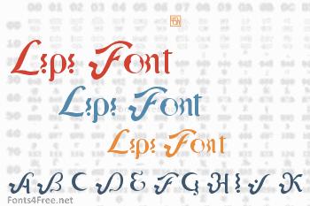 Lipi Font