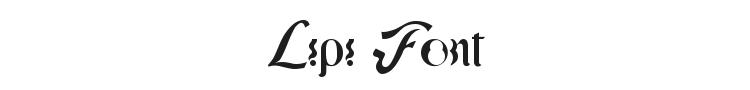 Lipi Font Preview