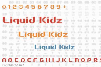 Liquid Kidz Font