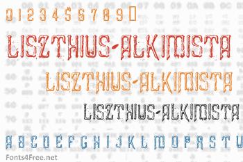 Liszthius-Alkimista Font