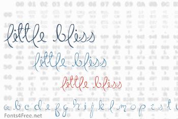 Little Bliss Font