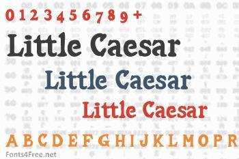 Little Caesar Font