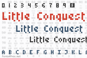 Little Conquest Font