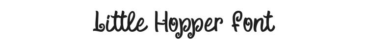 Little Hopper Font Preview