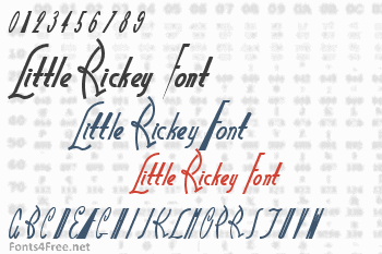 Little Rickey Font