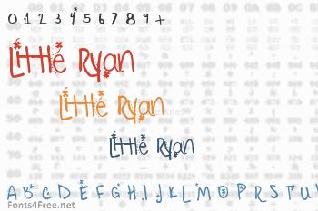 Little Ryan Font