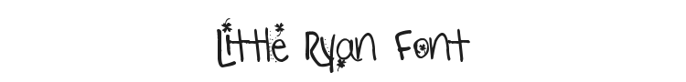 Little Ryan Font