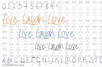 Live Laugh Love Font