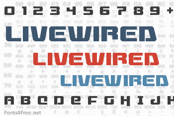 Livewired Font