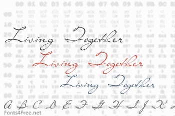 Living Together Font