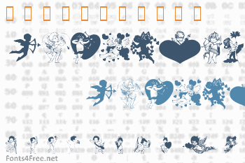 LM Cupids Font