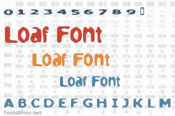 Loaf Font