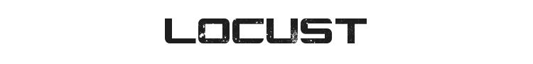 Locust Resistance Font Preview