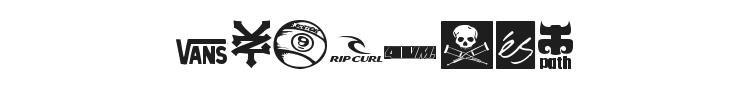 Logoskate Font Preview