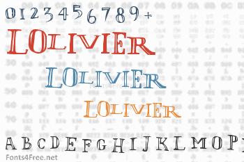 LOlivier Font