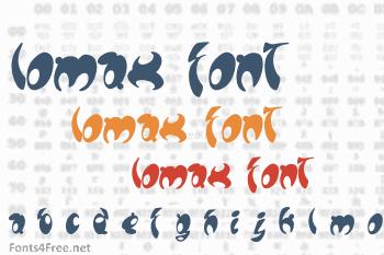 Lomax Font
