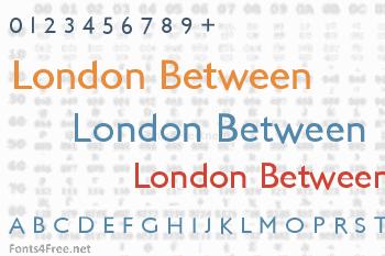 London Between Font