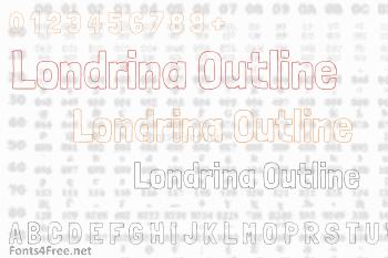 Londrina Outline Font
