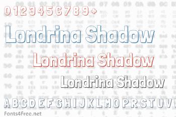 Londrina Shadow Font