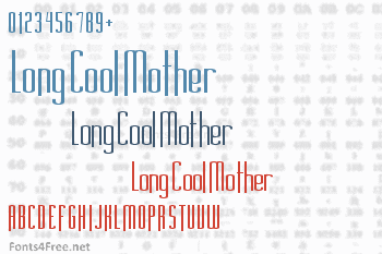 Long Cool Mother Font