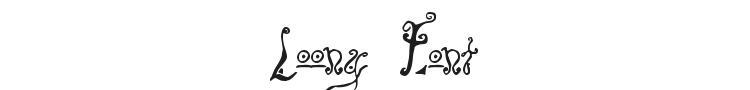 Loony Font