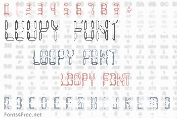 Loopy Font