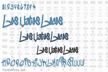 Los Vatos Locos Font