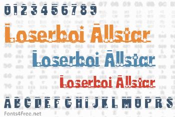 Loserboi Allstar Font