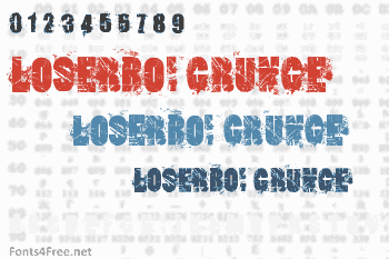 Loserboi Grunge Font