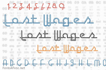 Lost Wages Font