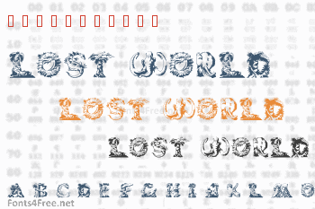 Lost World Font