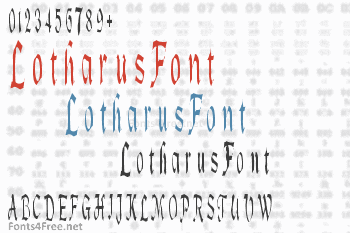 Lotharus Font