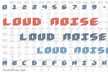 Loud Noise Font