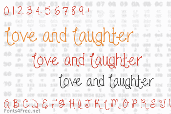 Love and Laughter Font