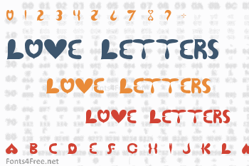 Love Letters 2 Font