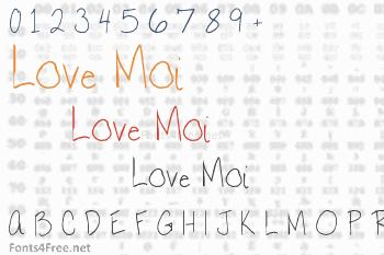 Love Moi Font