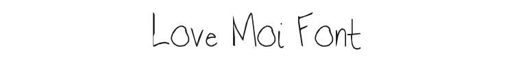 Love Moi Font Preview