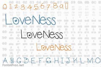 LoveNess Font