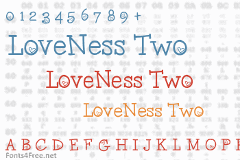 LoveNess Two Font