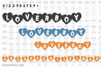 Loverboy Font