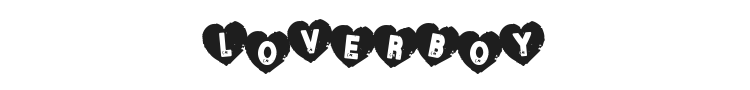 Loverboy Font Preview