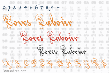 Loves Labour Font