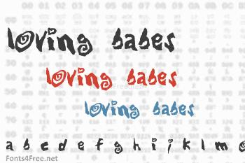 Loving Babes Font