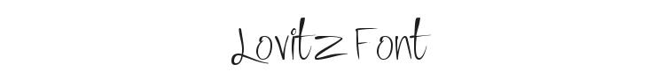Lovitz Font Preview